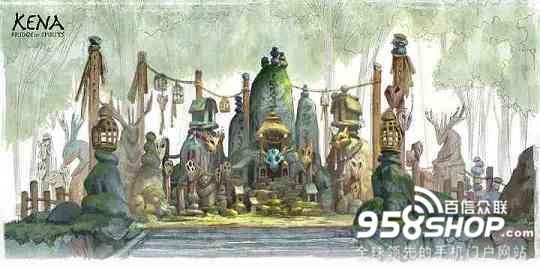 《柯娜:精神之桥》公布概念图原稿 展示伙伴及植物设定