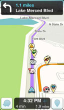 电子罗盘 Waze GPS & traffic v3.8